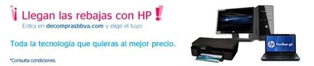 De Compras BBVA tiene ordenadores HP con descuentos