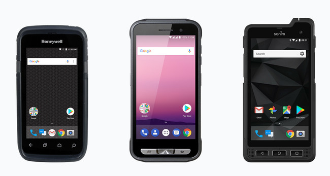 Android Enterprise Recommended Rugged