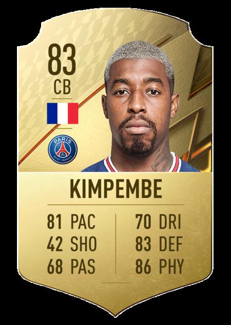 Kimpembe mejores jugadores ligue 1 fifa 22