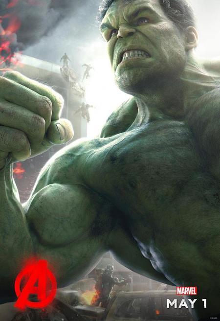 Cartel de Hulk en Los Vengadores 2