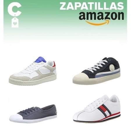 12 chollos en tallas sueltas de  zapatillas informales Pepe Jeans, Tommy, Hilfiger o Superdry por menos de 40 euros en Amazon