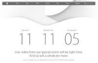 Ya tenemos cuenta atrás en la página de Apple para la Keynote de esta tarde