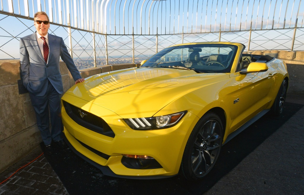 Foto de Ford Mustang regresa al Empire State (15/16)
