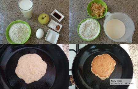 Hotcakes Manzana Pasos