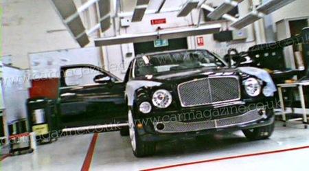 Así será el sustituto del Bentley Arnage