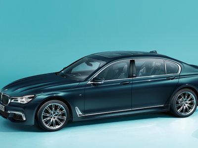 El BMW Serie 7 se rinde tributo a sí mismo con la edición 40 Jahre