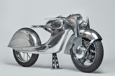 The Killer, la moto con el motor en la rueda delantera que nació del insomnio