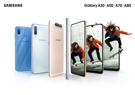 Samsung Galaxy A 10 20 30 50 70 80 Mexico