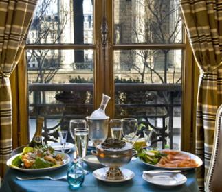 Dónde comer caviar en Paris: La Maison Kaspia (I), el menú 'Empire'