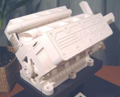 Papiroflexia en un V8
