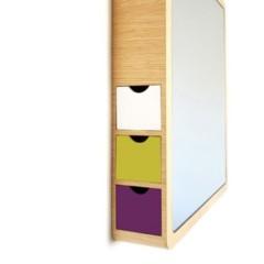 Foto 2 de 5 de la galería espejo-con-discretos-compartimentos-para-almacenaje en Decoesfera