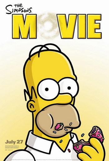 Nuevo póster de la película de Los Simpson
