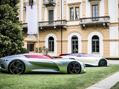 El Renault Trezor es nombrado el prototipo más bonito de Villa D'Este... de entre dos participantes