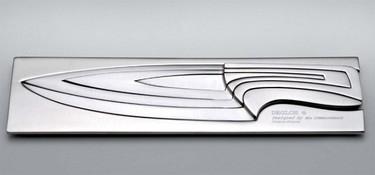 Meeting Knives son unos cuchillos basados en la sucesión de Fibonacci