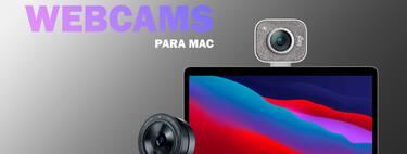 Webcams para Mac, ¿cuál es mejor comprar? 12 modelos recomendados para videollamadas nítidas en ordenadores con macOS