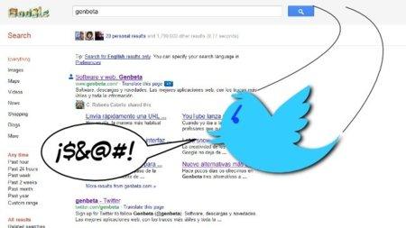Twitter arremete contra Google por la búsqueda social: ¿tiene razón?