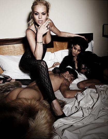 Foto de Lindsay Lohan en la revista Muse (6/11)