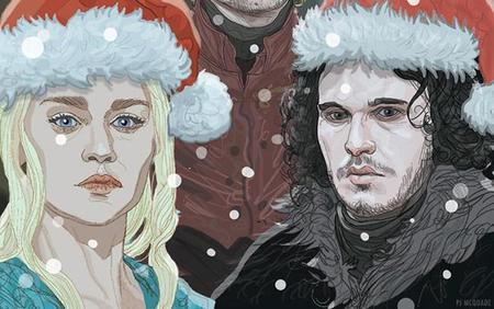 Los christmas y adornos navideños de 'Juego de Tronos', la imagen de la semana