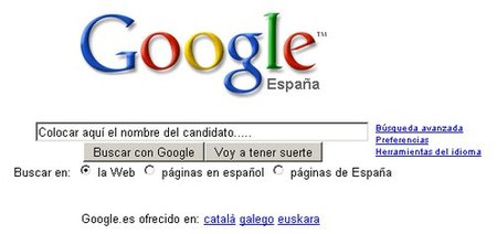 Búsqueda de candidatos: hay que poner su nombre en Google
