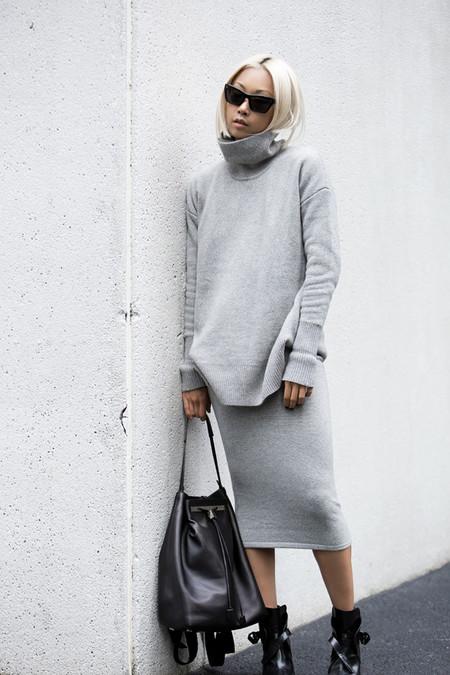 street style falda de tubo look outfit ideas inspiracion