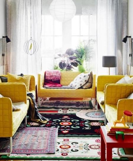 Vive el color: cómo llenar tu casa de energía con color