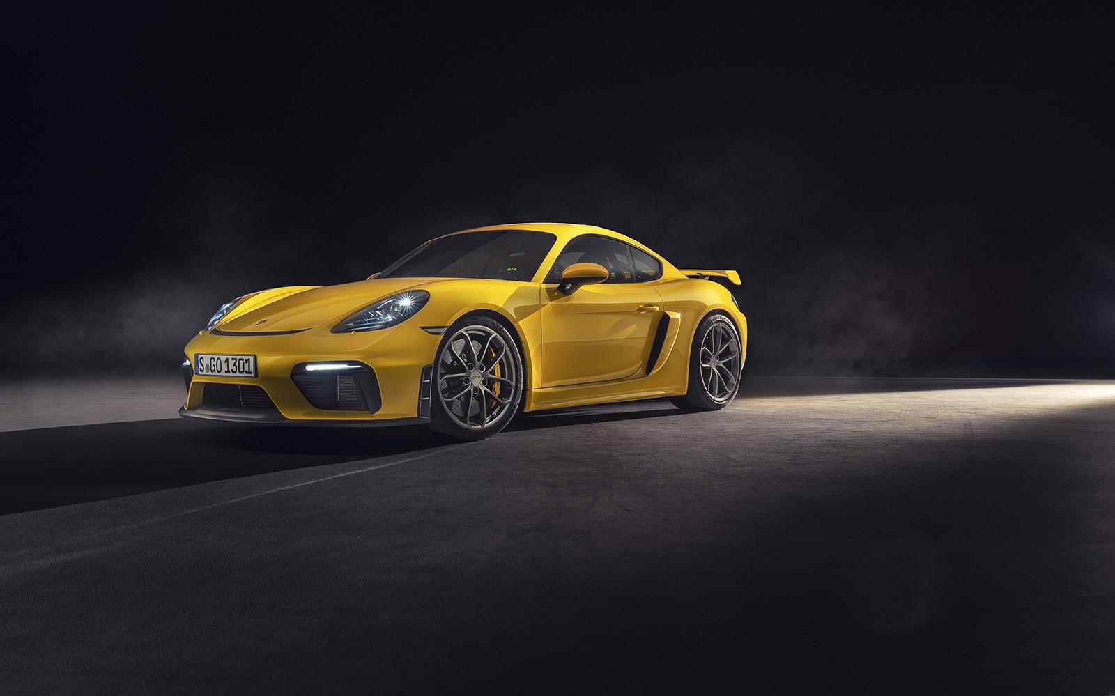 Foto de Porsche 718 GT4 2020 (1/13)