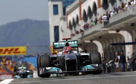 GP de Turquía F1 2011: Mercedes Grand Prix endereza el rumbo