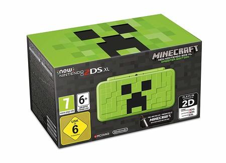 La New Nintendo 2DS XL – Creeper Edition inspirada en Minecraft llegará a las tiendas este viernes