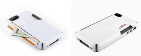 Carcasa para el iPhone 4 que guarda tu tarjeta de crédito