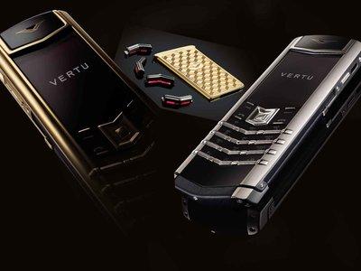 Vertu, el extravagante fabricante de móviles (costosísimos), se declara en bancarrota y se despide del mercado