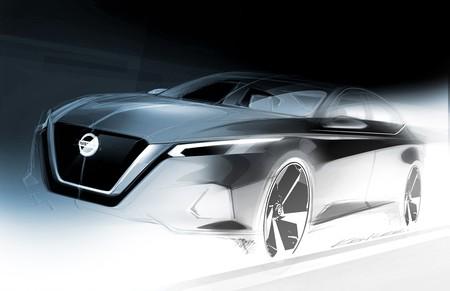 Nissan nos regala un teaser del nuevo Altima antes de su revelación en el Auto Show de Nueva York