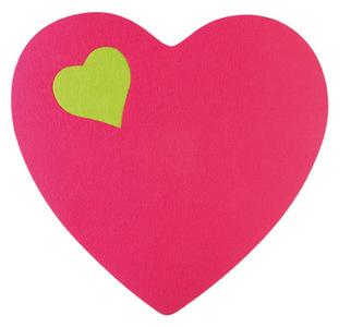 Decoración para San Valentín: vinilos de Plage con forma de corazón