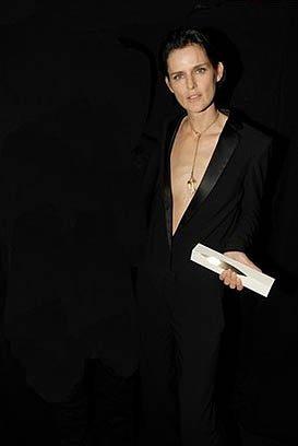 La modelo del año en los British Fashion Awards es Stella Tennant