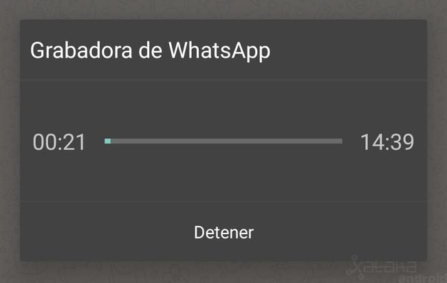 Grabadora Whatsapp