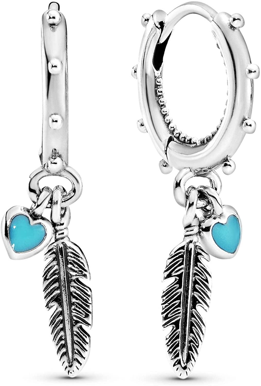 Pandora Pendientes de hilo Mujer plata - 297205EN168
