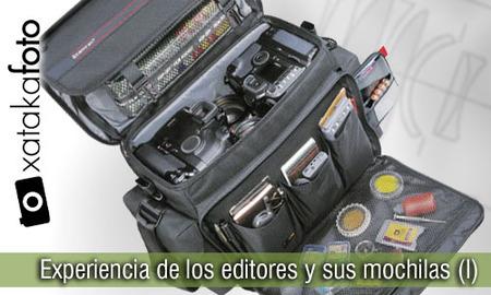 Experiencias de los editores de Xatakafoto y sus mochilas (I)