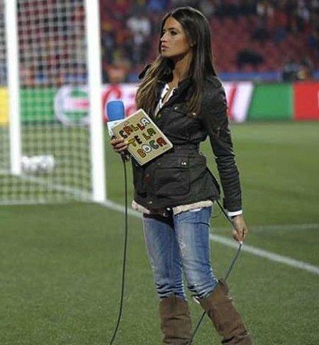 """Sara Carbonero manda un mensaje: """"Cállate la boca"""""""