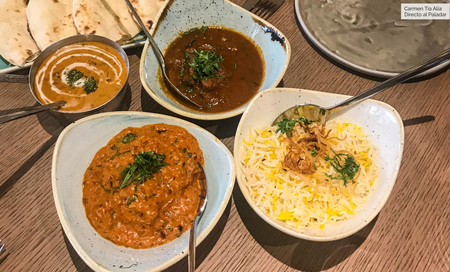 Clásicos de la cocina india Benarés Madrid