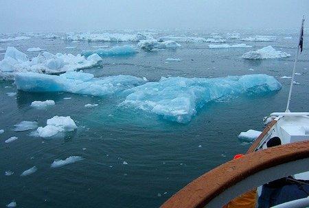 crucero por el hielo
