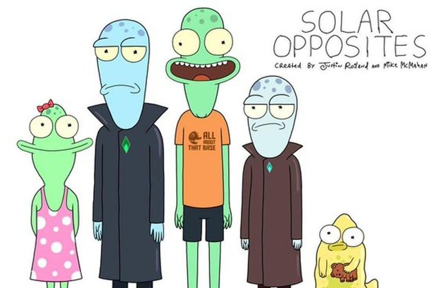 Luz verde para 'Solar opposites', la nueva serie del cocreador de 'Rick y Morty'
