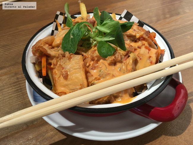 Patatas Kimchi De Shifu