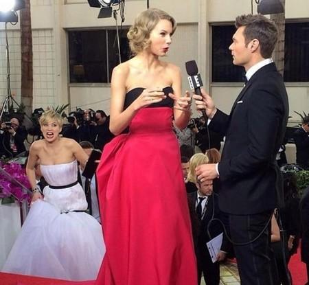 Jennifer Lawrence y Taylor Swift