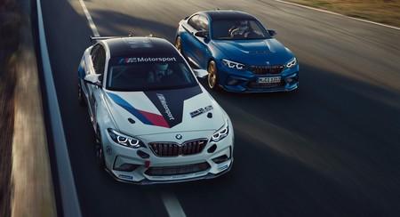 El BMW M2 CS Racing se transforma en un auténtico coche de competición