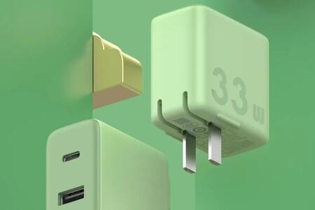 ZMI lanza al mercado un nuevo cargador con carga rápida de hasta 33W, compatibilidad con iPhone y un llamativo color verde mate