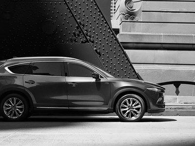 Mazda mostró la primera imagen del CX-8. ¿Demasiado parecido al CX-9?