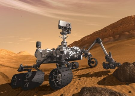 El Curiosity Rover ya pasea y hace fotos por Marte