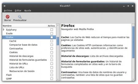 BleachBit: elimina archivos innecesarios para liberar espacio en GNU/Linux