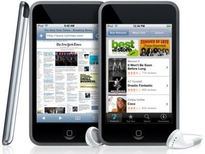 iPod Touch y iPhone con radio FM en la mano de Apple
