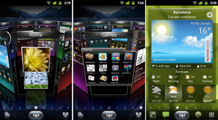 best android launcher SPB Shell 3D