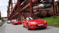 Nuevo Récord Guinness de concentración de Mazda MX-5